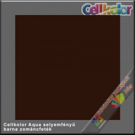 Cellkolor Aqua selyemfényű zománc sötétbarna