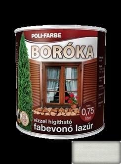 Boróka Lazúr fehér