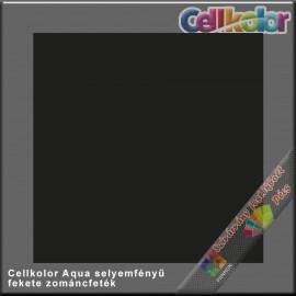 Cellkolor Aqua selyemfényű zománc fekete