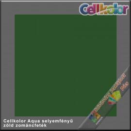Cellkolor Aqua selyemfényű zománc zöld