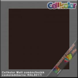 Cellkolor Matt csokoládébarna zománc festék /RAL8017/