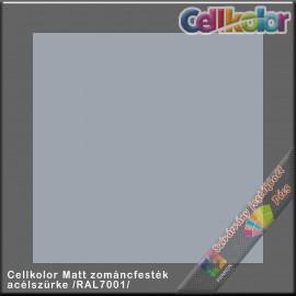 Cellkolor Matt acélszürke zománc festék /RAL7001/