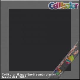 Cellkolor fekete magasfényű zománcfesték /RAL 9005/