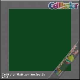 Cellkolor Matt zöld zománc festék