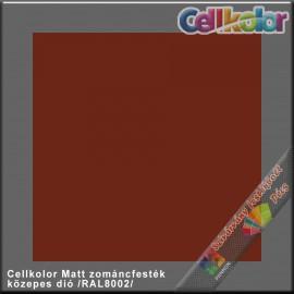 Cellkolor Matt  közepes dió zománc festék /RAL8002/