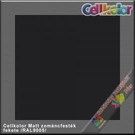 Cellkolor Matt fekete zománc festék /RAL9005/