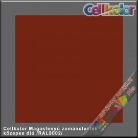 Cellkolor közepes dió magasfényű zománcfesték /RAL 8002/