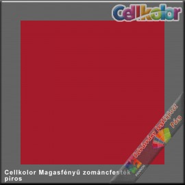 Cellkolor piros magasfényű zománcfesték