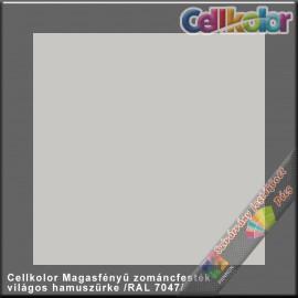 Cellkolor világos hamuszürke magasfényű zománcfesték /RAL 7047/