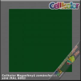 Cellkolor zöld magasfényű zománcfesték /RAL 6002/