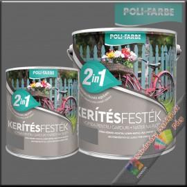 Kerítés festék 2in1 szürke alapozó és zománcfesték