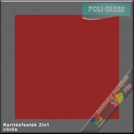 Kerítés festék 2in1 vörös alapozó és zománcfesték