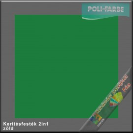 Kerítés festék 2in1 zöld alapozó és zománcfesték