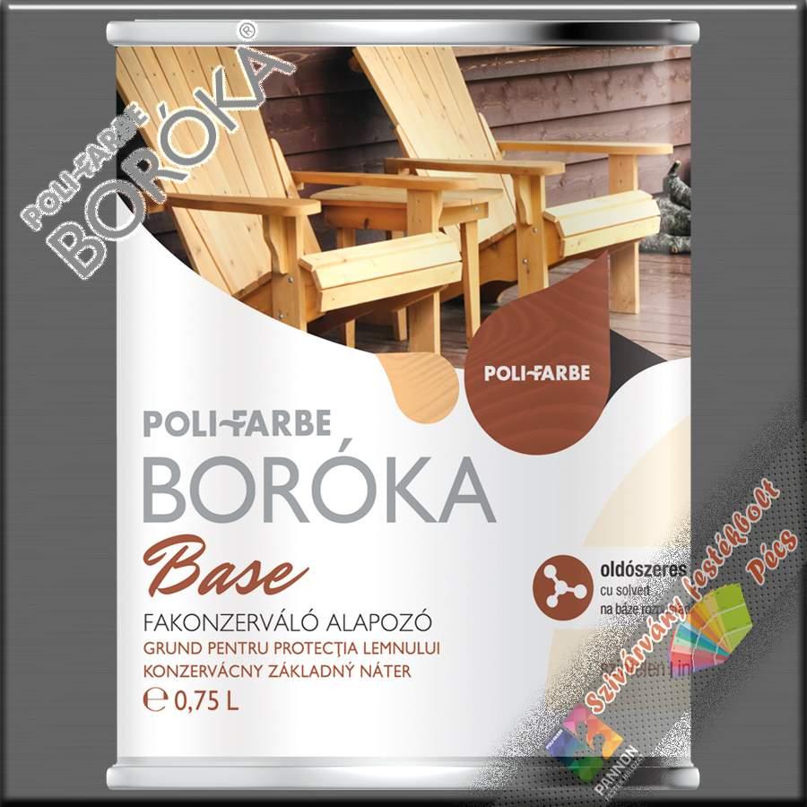 Boróka Base fakonzerváló alapozó (oldószeres)