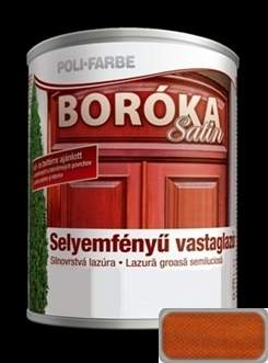 Boróka Satin selyemfényű vastaglazúr borovi fenyő
