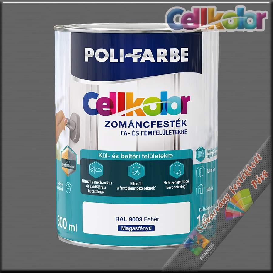 Cellkolor MF. fehér zománcfesték /RAL 9003/